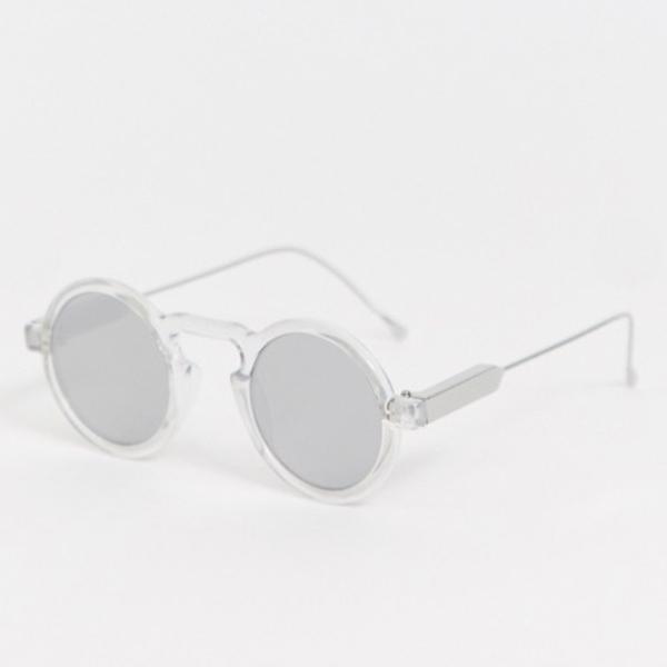 Spitfire Lennon 5ラウンドサングラス、鏡付きレンズ付きインポート 大きいサイズ 20代 30代 40代 インポート ブランド