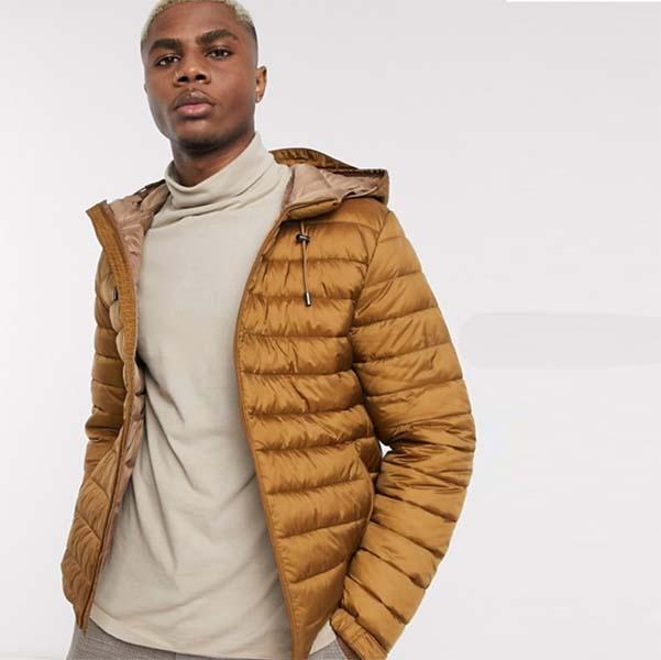 茶色 フード付き セリオ キルティング ジャケット 20代 30代 40代 ファッション コーディネート オシャレ カジュアル