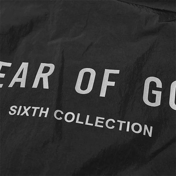 FEAR OF GOD フィアオブゴッド メンズ ナイロン フーデッド レインジャケットインポート トレンド 京都のセレクトショップdivaclosettCsrxhoQdB