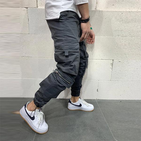 Gentleman To Be(ジェントルマントゥービー)グレー ジョガー パンツ メンズ 男性 20代30代40代 日本未入荷 大きいサイズあり 流行 最新 メンズカジュアル