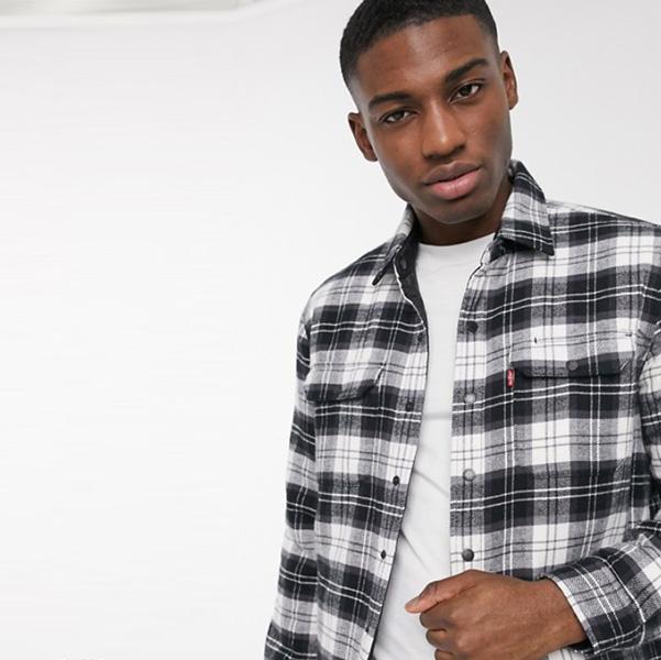 Levi's Youth Jackson リバーシブル キルティング アーチャー チェック オーバー シャ??ツ ジャケット 20代 30代 40代 ファッション コーディネート小さいサイズから大きいサイズまで オシャレ トレンド インポート トレンド