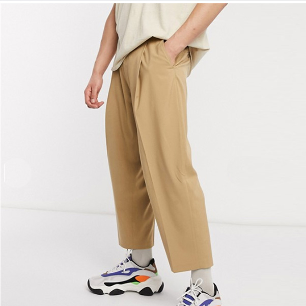 Reclaimed vintage ワイド レッグ スマート パンツ 20代 30代 40代 ファッション小さいサイズから大きいサイズまで オシャレ トレンド インポート トレンド