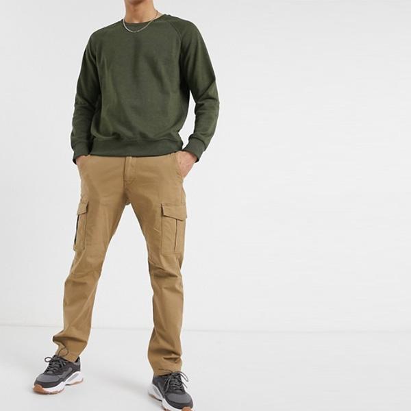 ジャック&ジョーンズ インテリジェンス スリム フィット カーゴパンツ(ダークサンド) 20代 30代 40代 ファッション小さいサイズから大きいサイズまで オシャレ トレンド インポート トレンド
