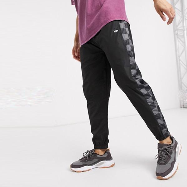 New Era コンテンポラリ ージョガー ブラック 20代 30代 40代 ファッション コーディネート