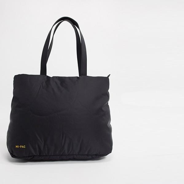 Mi-Pack ナイロン フグ トート ブラック 鞄 インポート ブランド メンズ 20代 30代 40代 ファッション コーディネート