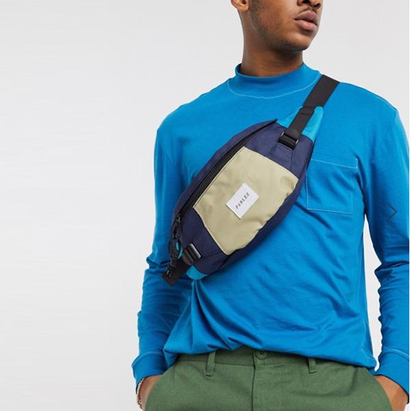 青 Parlez Kirby バン バッグ 鞄 インポート ブランド メンズ 20代 30代 40代 ファッション コーディネート