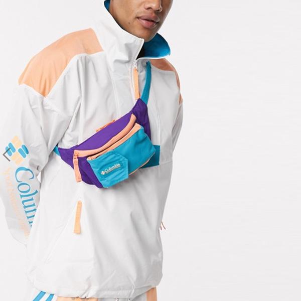 コロンビア ポポ バム バッグ パープル 鞄 インポート ブランド メンズ 20代 30代 40代 ファッション コーディネート