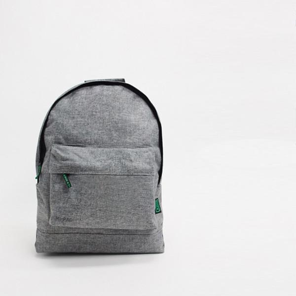 Mi-Pac Renew リサイクル クロス ハッチ バックパック(グレー17l) 鞄 インポート ブランド メンズ 20代 30代 40代 ファッション コーディネート