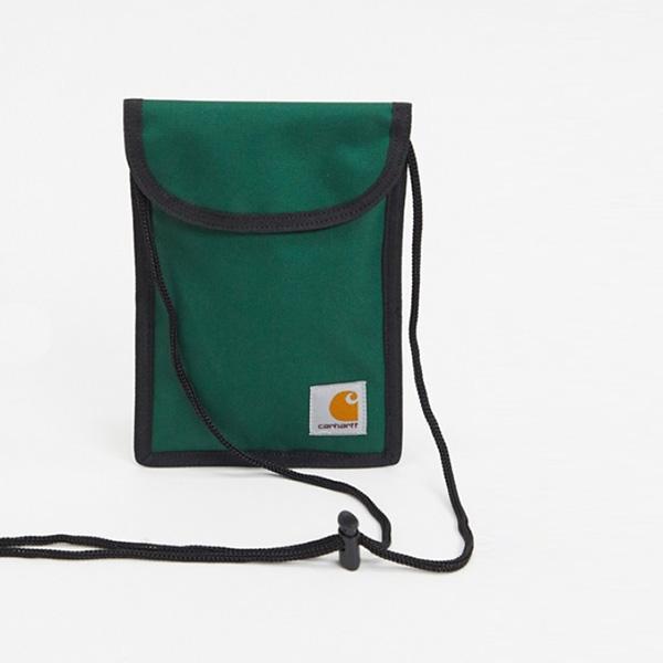 Carhartt WIP Collins ネック ポーチ グリーン 鞄 インポート ブランド メンズ 20代 30代 40代 ファッション コーディネート