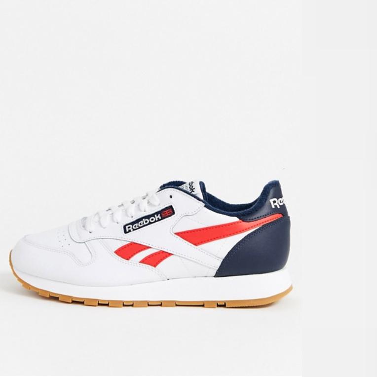 Reebok クラシック レザー トレーナー レトロ ホワイト 靴 20代 30代 40代 ファッション コーディネート 小さいサイズから大きいサイズまで オシャレ トレンド インポート トレンド