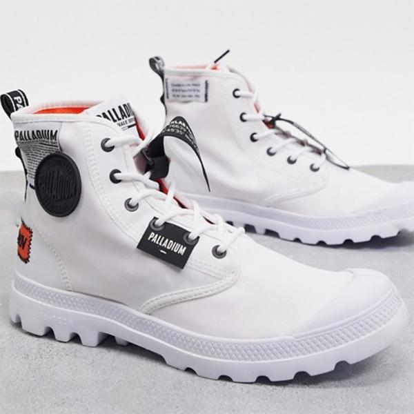 Palladium Pamppa lite オーバー ラブ ブーツ ホワイト 靴 20代 30代 40代 ファッション コーディネート 小さいサイズから大きいサイズまで オシャレ トレンド インポート トレンド