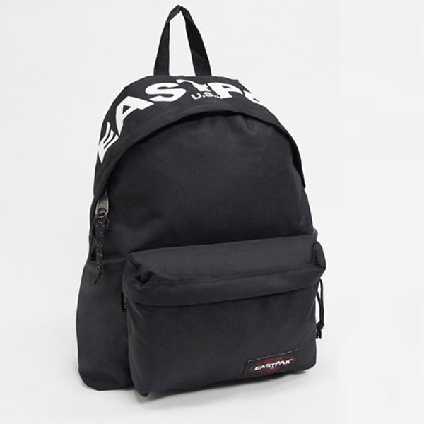 Eastpak Padd Pak'R バックパックロゴ入り ブラック 24l 20代 30代 40代 ファッション コーディネート オシャレ カジュアル