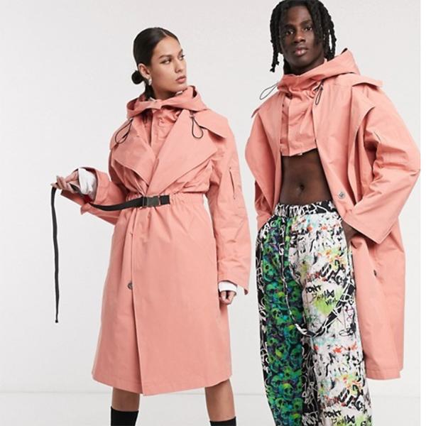 COLLUSION ユニセックス オーバーサイズ ユーティリティ パーカー メンズ 20代 30代 40代 ファッション コーディネート小さいサイズから大きいサイズまで オシャレ トレンド インポート トレンド