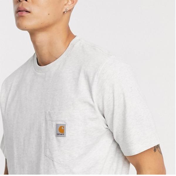 グレー Carhartt WIP ポケット Tシャツ メンズ 20代 30代 40代 ファッション コーディネート 小さいサイズから大きいサイズまで オシャレ トレンド インポート トレンド
