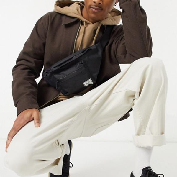 Herschel Supply Co セブンティーン バム バッグ ブラック 20代 30代 40代 ファッション コーディネート オシャレ カジュアル