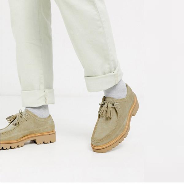 ベージュ スエード グレンソン ベネット デザート シューズ 靴 20代 30代 40代 ファッション コーディネート 小さいサイズから大きいサイズまで オシャレ トレンド インポート トレンド