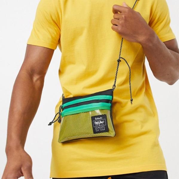 黄色 モッシモ 小袋 20代 30代 40代 ファッション コーディネート オシャレ トレンド インポート トレンド