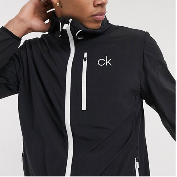 Calvin Klein Golf 24/7 Ultrlight ジャケット(ブラック) 20代 30代 40代 ファッション コーディネート 小さいサイズから大きいサイズまで オシャレ トレンド インポート トレンド