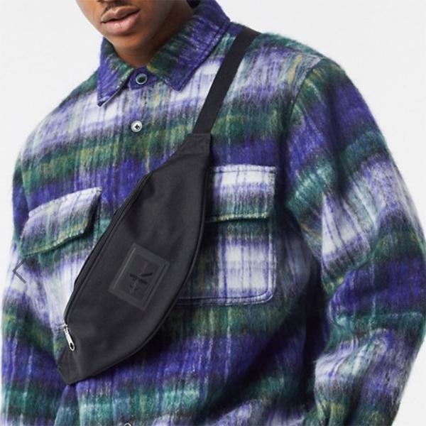 Calvin Klein Jeans Sports Essentials ロゴ バム バッグ ブラック 20代 30代 40代 ファッション コーディネート  オシャレ トレンド インポート トレンド