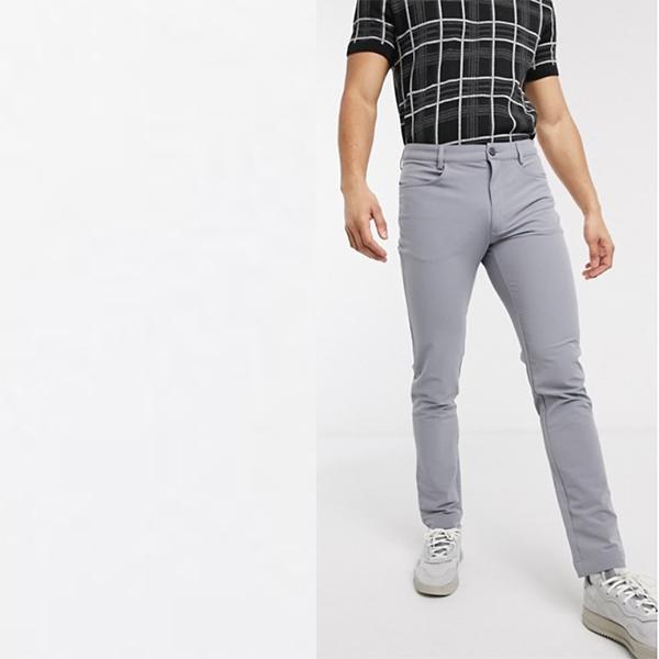 Calvin Klein Golf Genius パンツ グレー メンズ 20代 30代 40代 ファッション コーディネート 小さいサイズから大きいサイズまで オシャレ トレンド インポート トレンド