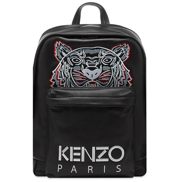 KENZO(ケンゾー) TIGER レザー バック パック 鞄 ハイブランド インポート ブランド