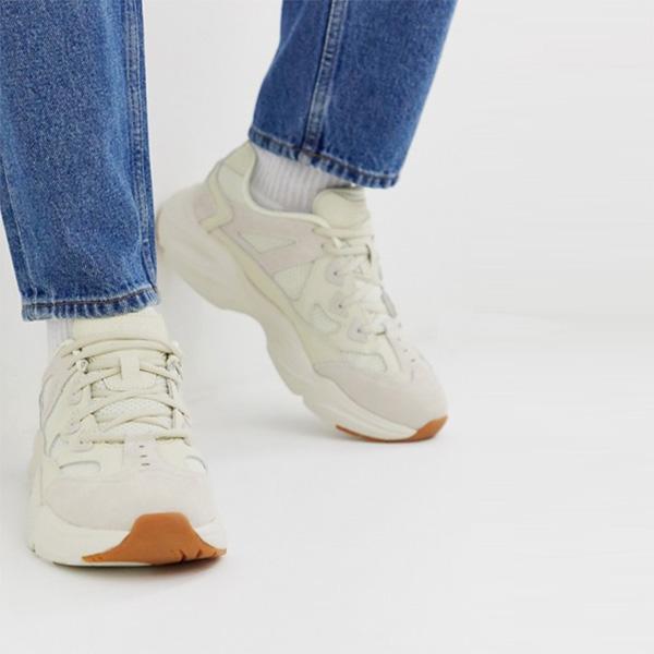 スケッチャーズ SKECHERS オフホワイト スタミナエアリーチャンキートレーナー スニーカー 靴 インポート 大きいサイズ 20代 30代 40代 インポート ブランド