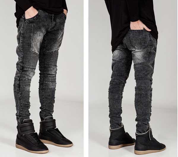 [骑摩托车的人粗斜纹布][蓝色][灰色][黑色][白][金鸡纳霜][人底][细长的运动衫][金鸡纳霜][金鸡纳霜运动衫裤子][大的尺寸][进口][Black][男女两用][便利店领取对应可]