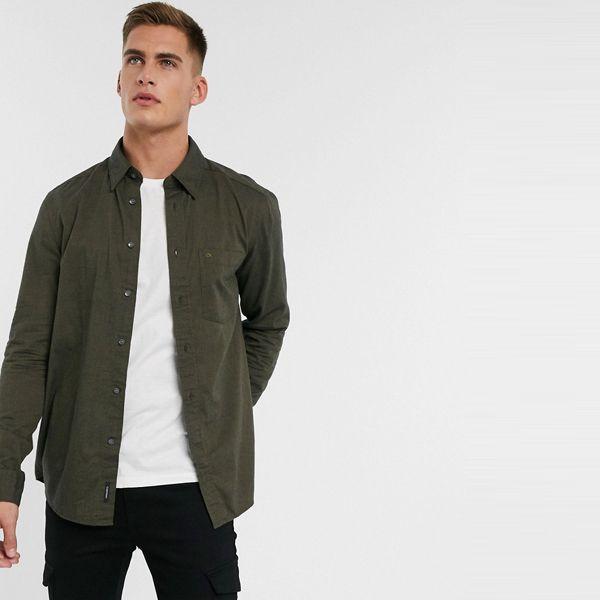 Calvin Klein カルバンクライン メンズ Calvin Klein オリーブ 起毛 コットン シャツ 大きいサイズ インポート エクストリームスーパースキニーフィット スウェットパンツ ジーンズ ジーパン 20代 30代 40代 ファッション コーディネート