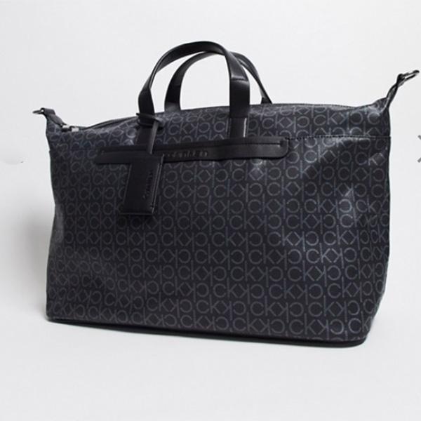 ASOS エイソス asosセレクト Calvin Klein カルバンクライン モノグラム ハンドバッグ ボストンバッグ 鞄 流行 最新 メンズカジュアル トレンド ファッション インポート