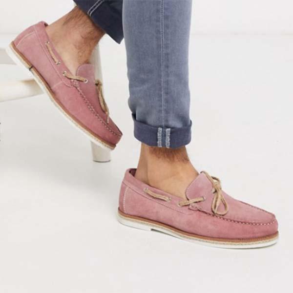 ASOS セレクト Silver Street ピンク スエード スリッポン エスパドリーユ 20代 30代 40代 ファッション コーディネート オシャレ トレンド インポート トレンド 靴 大きいサイズあり