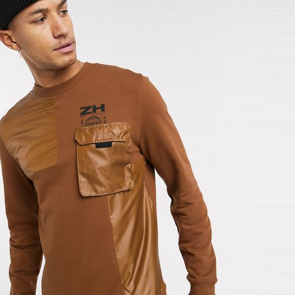 asos ASOS エイソス メンズ ASOS DESIGN 織 ユーティリティ ディティール 共同ORD 特大 スウェットシャツ 大きいサイズ インポート エクストリームスーパースキニーフィット スウェットパンツ ジーンズ ジーパン 20代 30代 40代 ファッション コーディネート