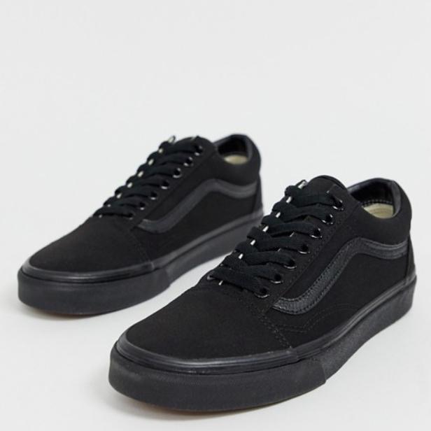 Vans ヴァンズ バンズ トリプルブラック Vans Old Skool メンズ 靴 20代 30代 40代 ファッション コーディネート アウトフィット アウトドアー オシャレ 大人 カジュアル 小さいサイズあり