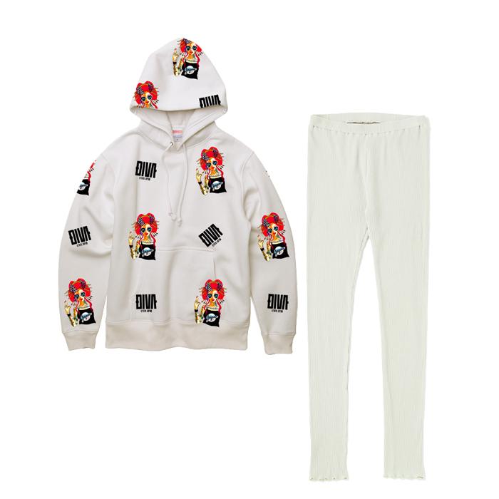 ルームウェア roomwear 部屋着 セットアップ 1マイル着 プリント 長袖 大きいサイズ 30代 ピンク 20代 ミント ブラック ホワイト XS~4L