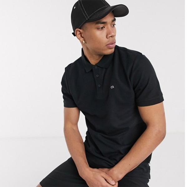 カルバンクラインゴルフ Calvin Klein Golf コットンポロシャツ(ブラック)コーディネート 20代 30代 40代 ファッション コーディネート