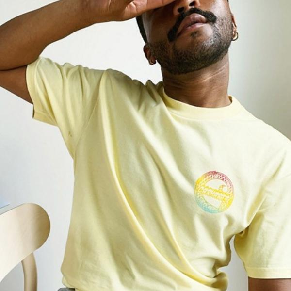 カーハート フレーム Tシャツ(イエロー)コーディネート 20代 30代 40代 ファッション コーディネート