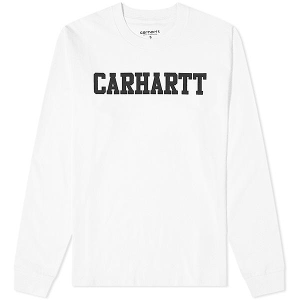 カーハート CARHARTT WIP カレッジ 長袖カレッジティー ロンT Tシャツ メンズ インポート ブランド
