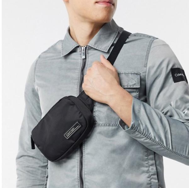 Calvin Klein カルバンクライン スモールバムバッグ(ブラック) 20代 30代 40代 ファッション コーディネート