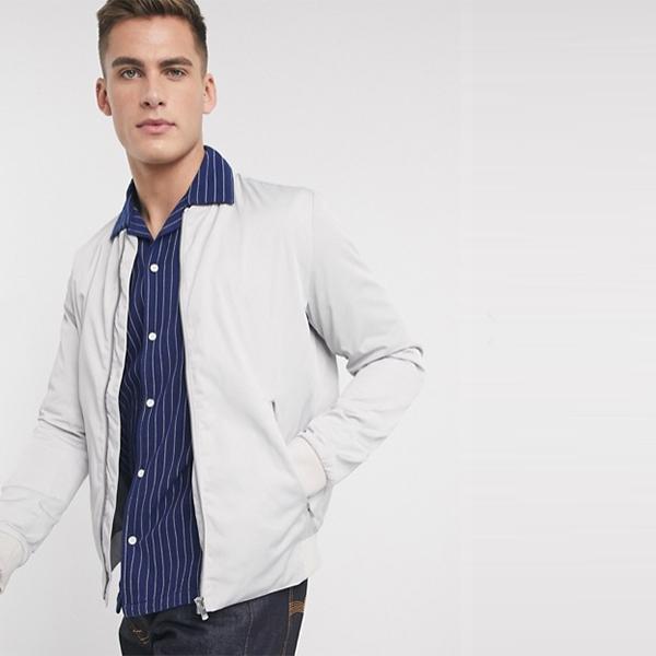 ジャック&ジョーンズ プレミアム ジップ スルー ボンバー ジャケット 小さいサイズから大きいサイズあり 30代 40代 20代 高身長 春夏秋冬