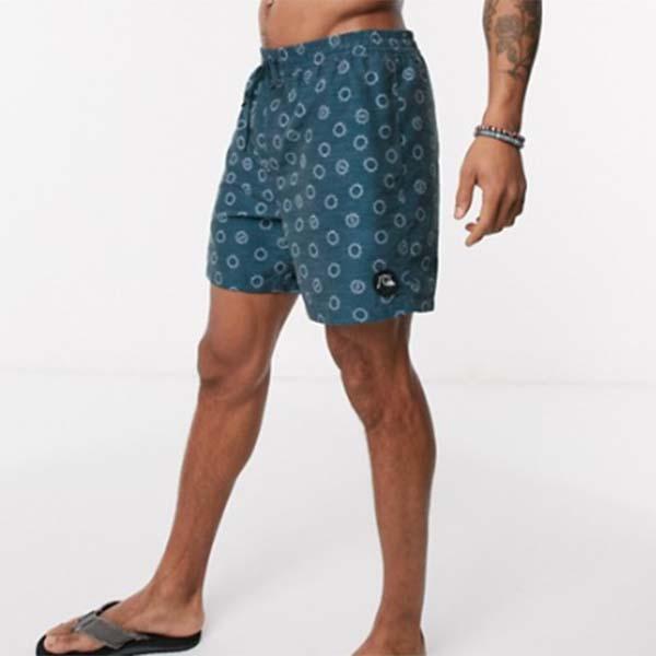 Quiksilver Micro Dose Volley 17インチ ボードショーツ(ブルー) パンツ メンズ 男性 小さいサイズから大きいサイズまで 20代 30代 40代 ファッション コーディネート