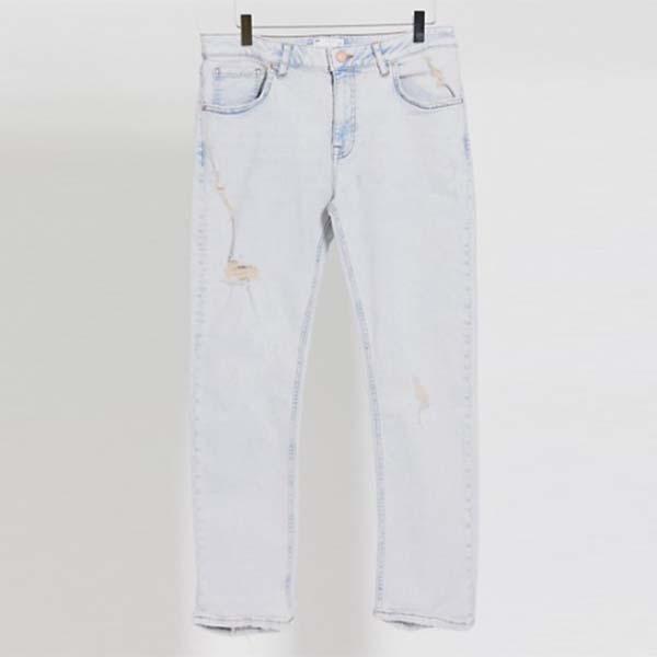ASOS DESIGN 薄手 デニム スキニー ジーンズ メンズ 男性 小さいサイズから大きいサイズまで 20代 30代 40代 ファッション コーディネート
