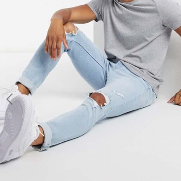 トップマン スキニー ジーンズ パンツ メンズ 男性 小さいサイズから大きいサイズまで 20代 30代 40代 ファッション コーディネート