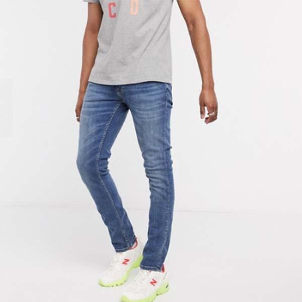 Nudie Jeans Co タイト テリー スキニー フィット ジーンズ  パンツ ボトム メンズ 男性 小さいサイズから大きいサイズまで 20代 30代 40代 ファッション コーディネート