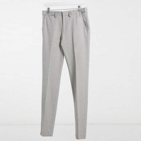 Celio スリム フィット パンツ(グレー) パンツ ボトム メンズ 男性 小さいサイズから大きいサイズまで 20代 30代 40代 ファッション コーディネート