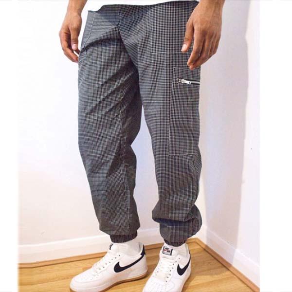 Ragged Priest グリッド コンバット カーゴ ジョガー パンツ ズボン パンツ ボトム メンズ 男性 小さいサイズから大きいサイズまで 20代 30代 40代 ファッション コーディネート