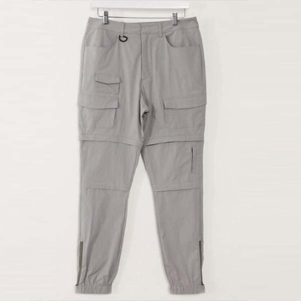 ASOS DESIGN ファスナー付き レッグ付き テーパード テックパンツ パンツ メンズ 男性 小さいサイズから大きいサイズまで 20代 30代 40代 ファッション コーディネート