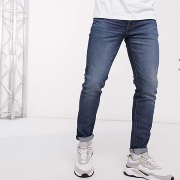 Levi's 512 スリム テーパード フィット ジーンズ  デニム パンツ メンズ 男性 小さいサイズから大きいサイズまで 20代 30代 40代 ファッション コーディネート