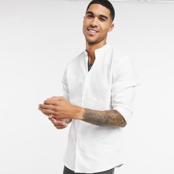 オム (ホワイト) シャツ トップス 半袖 メンズ 男性 20代 30代 40代 ファッション コーディネート