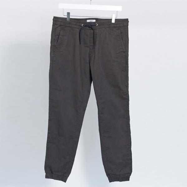 エスプリ カフ付き チノ グレー パンツ ボトム メンズ 男性 小さいサイズから大きいサイズまで 20代 30代 40代 ファッション コーディネート