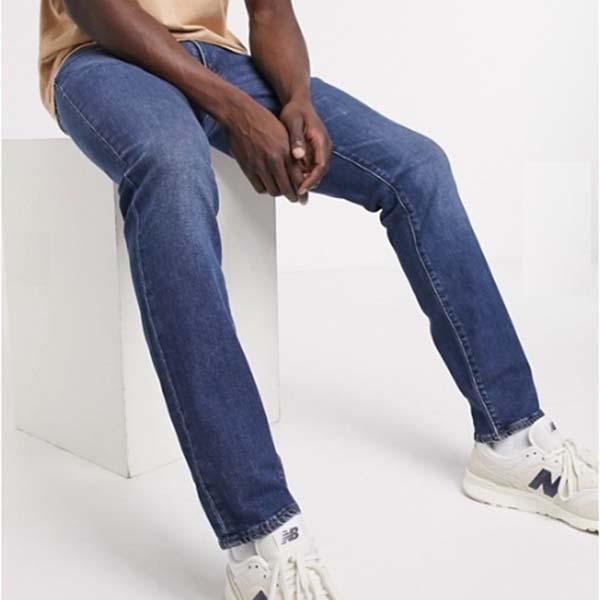 リーバイス 511 スリム フィット ジーンズ(ポンチョ Righty Advanced ミッドウォッシュ) パンツ ボトム メンズ 男性 小さいサイズから大きいサイズまで 20代 30代 40代 ファッション コーディネート