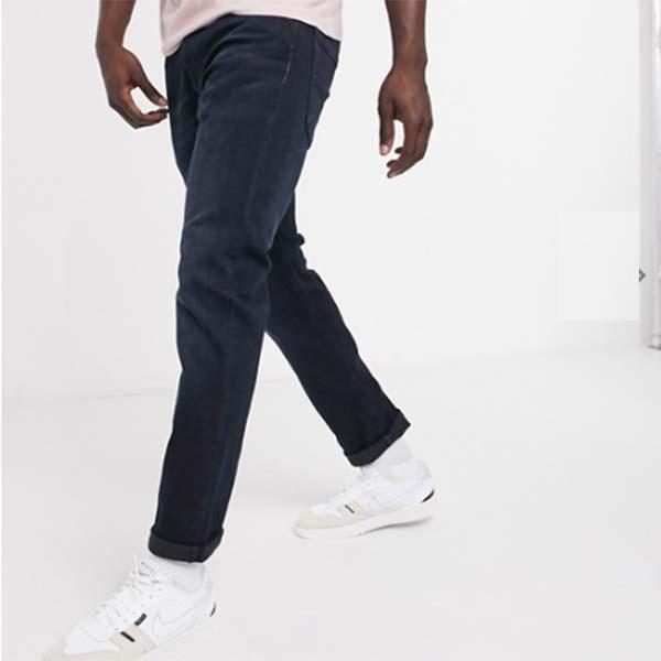 リーバイス 502 テーパード フィット ジーンズ ブルー リッジアド バンスド ダーク ウォッシュ パンツ ボトム メンズ 男性 小さいサイズから大きいサイズまで 20代 30代 40代 ファッション コーディネート